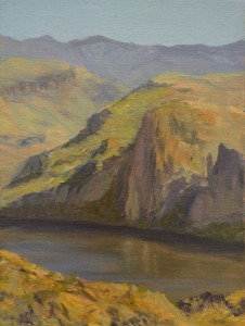 Canyon Lake, Oil on Linen, 12x9 in, 2014 Please contact us for price and availability.