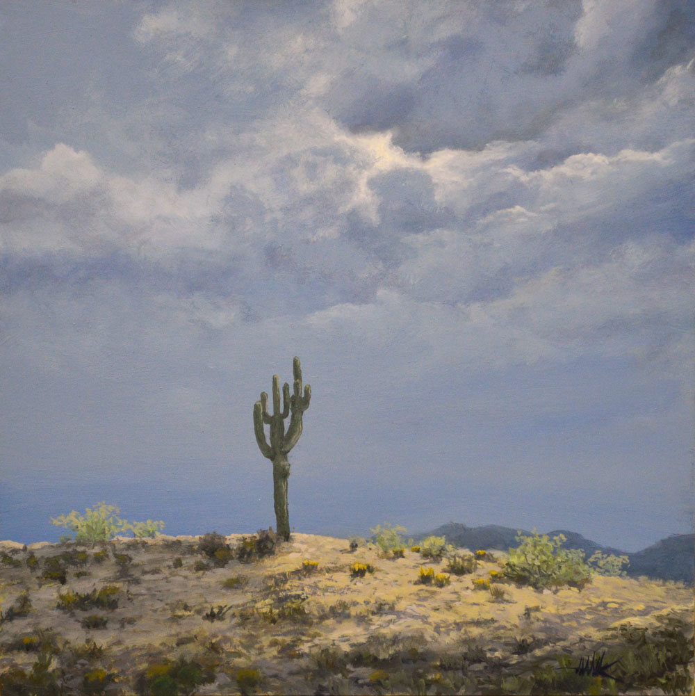 """The Stand,"" Oil on Panel, 2015, Please contact us for price and availability."